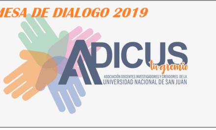 ADICUS en la Mesa de Diálogo en defensa de la Universidad Nacional, pública y gratuita