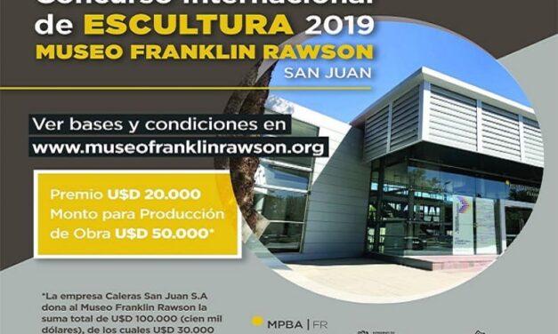 Concurso internacional de escultura 2019.