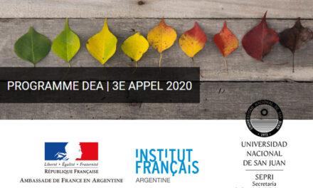 Convocatoria para estancias de investigación en Francia