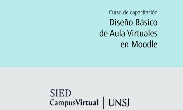 UNSJ: Capacitación para docentes en aula virtual: cómo acceder desde aquí