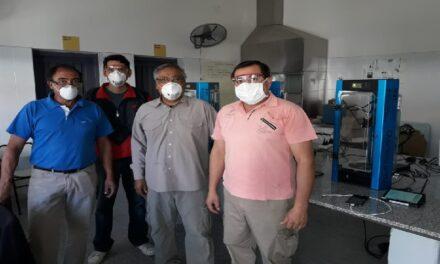 Coronavirus: La Escuela Técnica Manuel Savio fabrica máscaras con impresora 3D