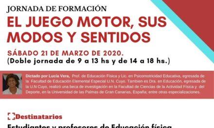 Jornada de formación para estudiantes y profesores de Educación Física
