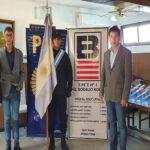 La Escuela Boero entregó máscaras de protección a la Policía Federal